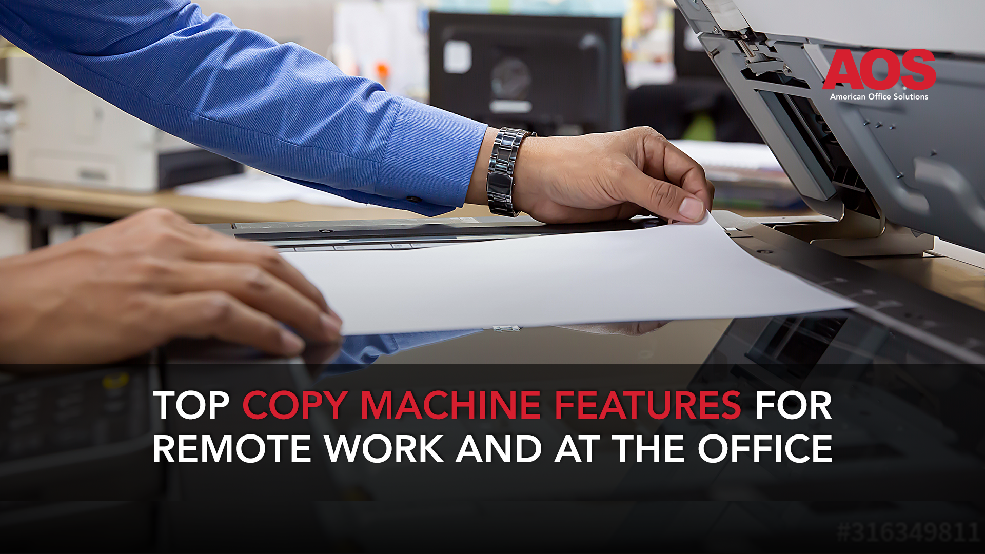 Top Printer and Copy Machine Features for Work From Home and at the Office