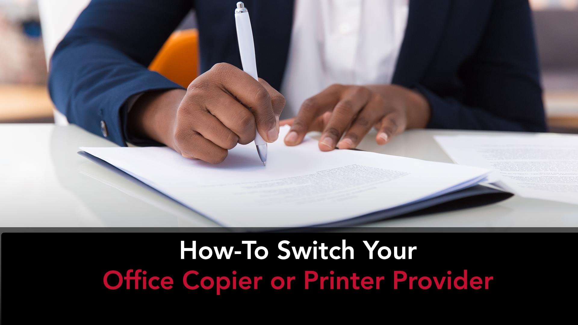 Switch Office Copier