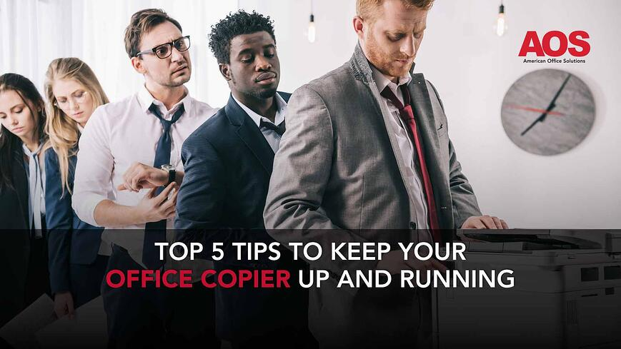Technology Solutions: Top 5 Tips to Keep Your Office Copier Up and Running