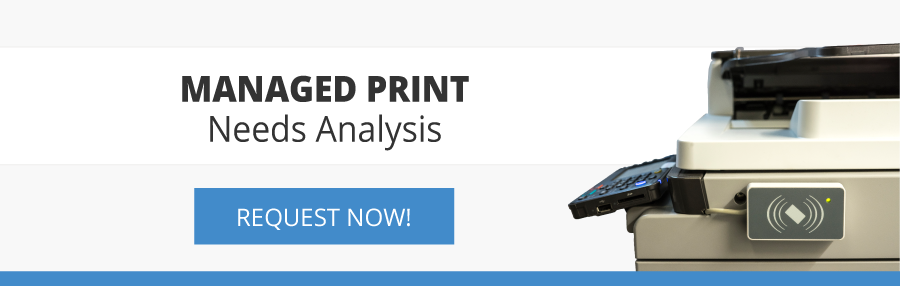 Managed Print Needs Analysis Request