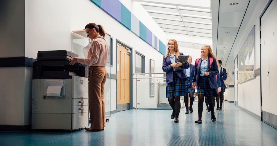 4 Ways Schools Benefit from Managed Print Services